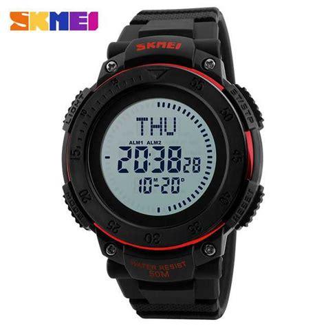 Promo Bulan Ini Skmei Jam Tangan Analog Wanita 9092 Black jual jam tangan pria skmei digital casual original dg1236 merah