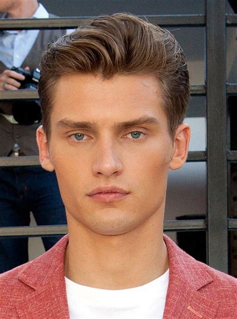 mens 59 s style hair coming back men s brushed back hairstyles picture gallery