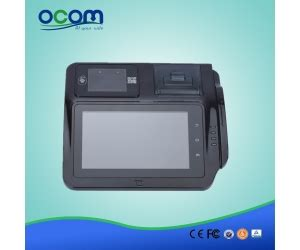 android pos cheap 7 quot android tablet pos terminal touch all in one pos with qr code and nfc reader