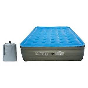 embark raised air bed blue kitchen dining