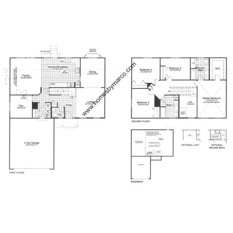 jefferson floor plan jefferson model in the lakewood grove subdivision in round