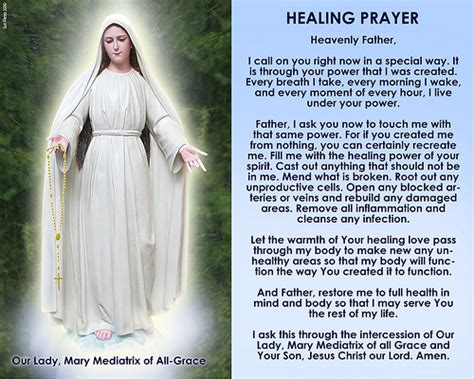 prayer for healing and comfort flickriver photoset novena prayers to mary mediatrix by