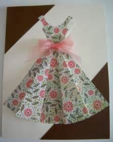 If you are interested in the pattern to make a dress card of your own