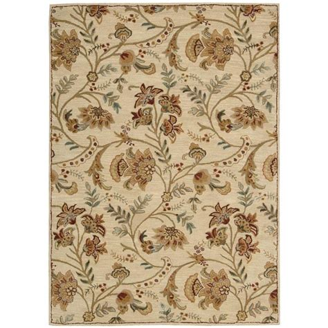 Overstock Area Rug Nourison Overstock Firenze 5 Ft 3 In X 7 Ft 4 In Area Rug 089281 The Home Depot