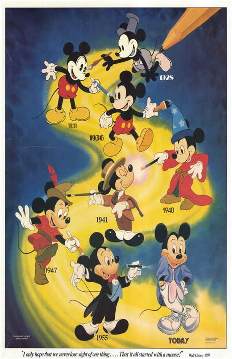Pulpen Mickey Mous mickey mouse posters from poster shop