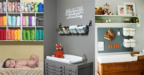 9 Most Inspirational Organized Changing Tables To Make Organize Changing Table