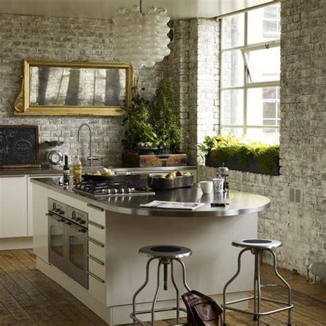 rustic kitchen with central island kitchen decorating