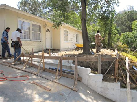 renovate backyard yard renovation hardscape danny deck inc los angeles ca