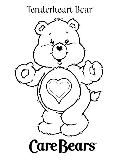 Carebears Coloring Pages care coloring pages learn to coloring