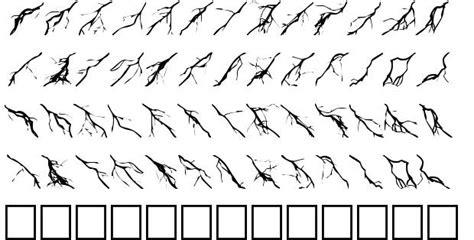 lightning font lightning bolts font by foopy fontriver