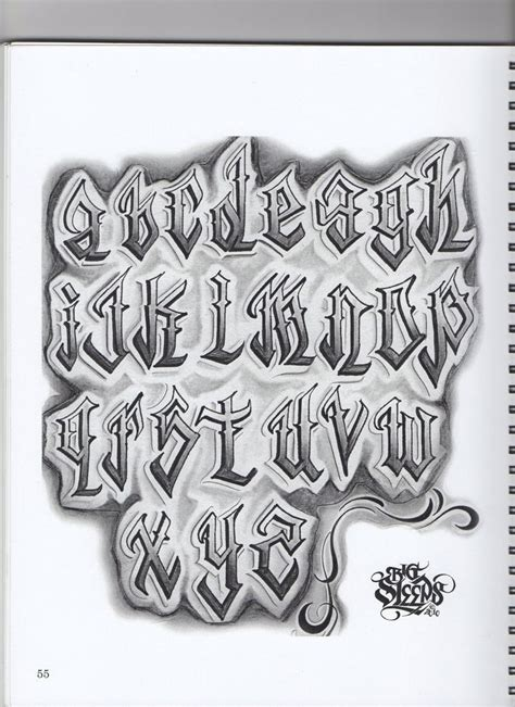 tattoo letter font 1000 ideas about lettering fonts on