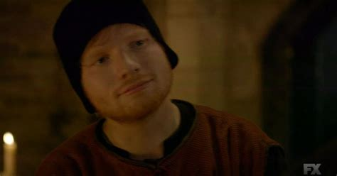 ed sheeran game of thrones song ed sheeran stars in the bastard executioner cheating on