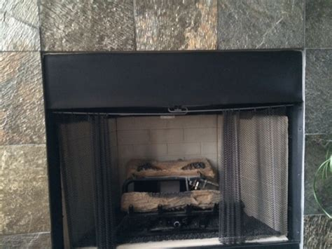 fireplace hoods and heat deflectors