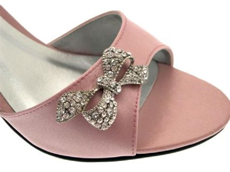 womens wedding pink satin peeptoe shoes sz 3 8 ebay