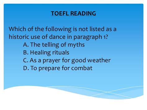 How To Prepare Toefl For Pemula Cd 1 toefl reading