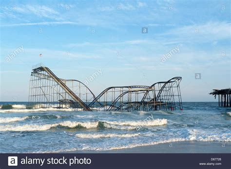Gamis New Syari Juwet the jet roller coaster still sets in the atlantic in stock photo royalty free image