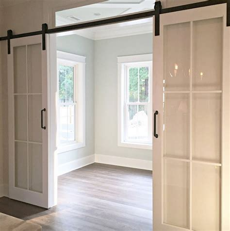 barn door glass interior design ideas home bunch interior design ideas