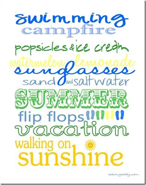 printable summer quotes 17 best images about fonts and printables on pinterest