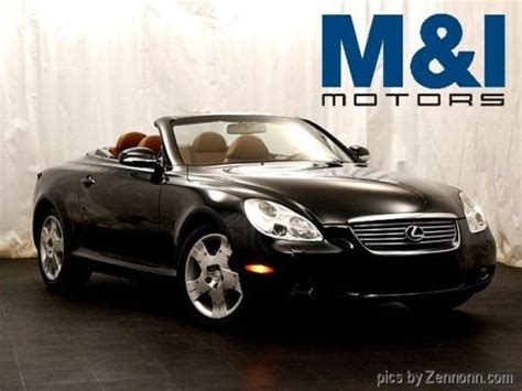 lexus convertible 2004 buy used 2004 lexus convertible in highland park illinois