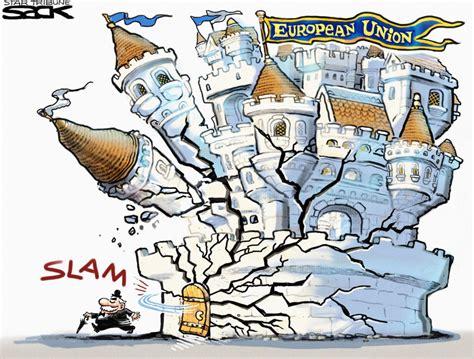 brexit economy cartoons cartoonists draw brexit politico