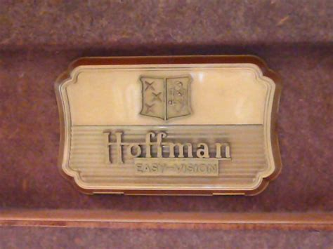 Hoffman Model 7M112 Tabletop Television (1952)