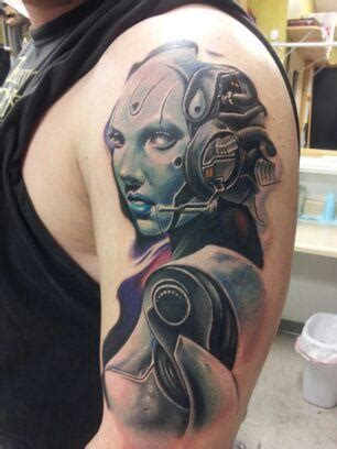 cyberpunk tattoo cyberpunk by d1stortionn on deviantart