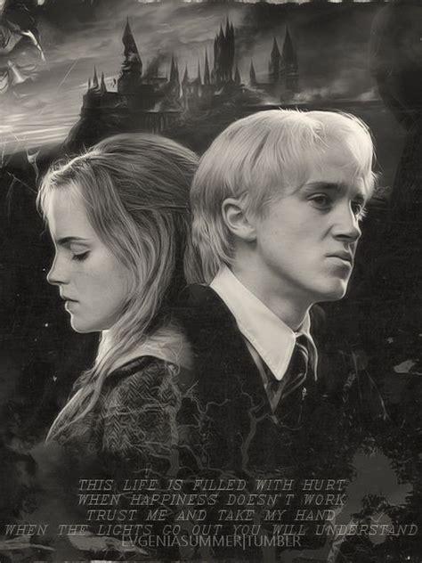 Hermione Granger Draco Malfoy by Imagen De Dramione Draco Malfoy And Hermione Granger I