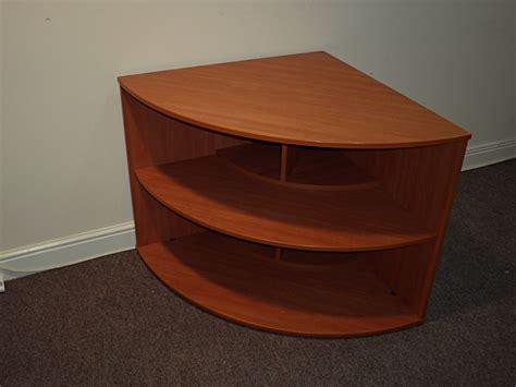 corner bookcase cherry 90 degree corner bookcase in cherry sos office supplies