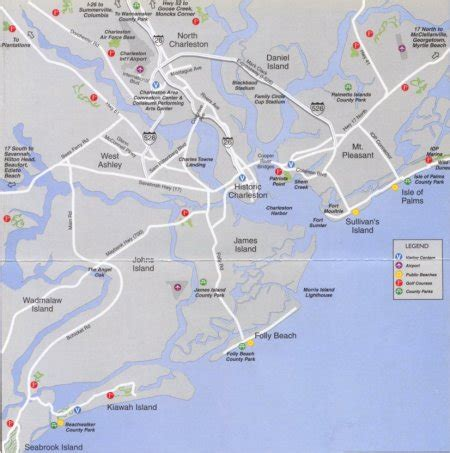 charleston sc map map of charleston sc and surrounding area swimnova