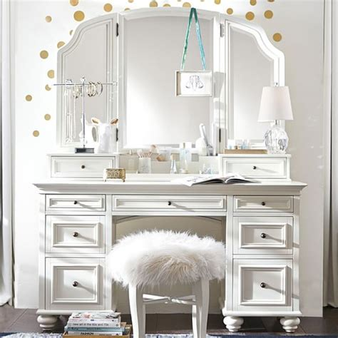 bedroom vanities chelsea vanity pbteen