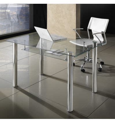 scrivanie per ufficio in vetro scrivania moderna per ufficio in vetro 120 x 70 cm roland