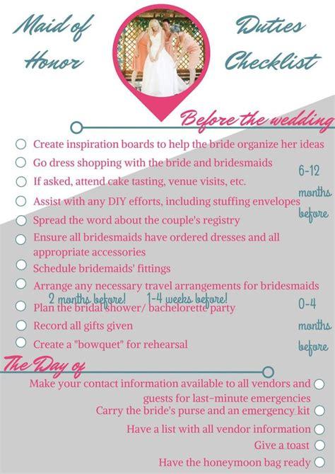printable wedding checklist ireland maid of honor wedding checklist free printable the o