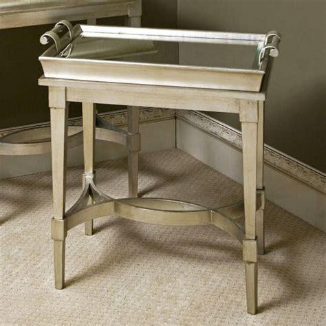 adele mirrored butler tray table dot  bo living