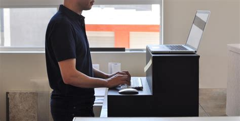 Hootsuite Founder Creates 25 Cardboard Stand Up Desk