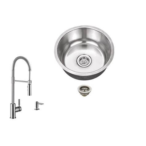 undermount bar sink home depot elkay lustertone undermount stainless steel 18 in bar