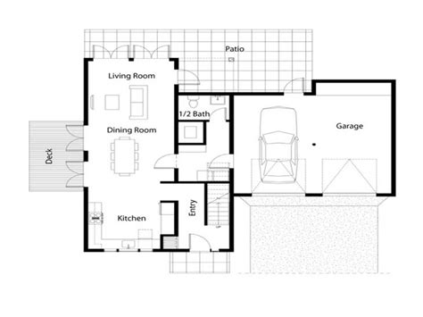 Simple Open House Plans | simple house floor plan simple floor plans open house