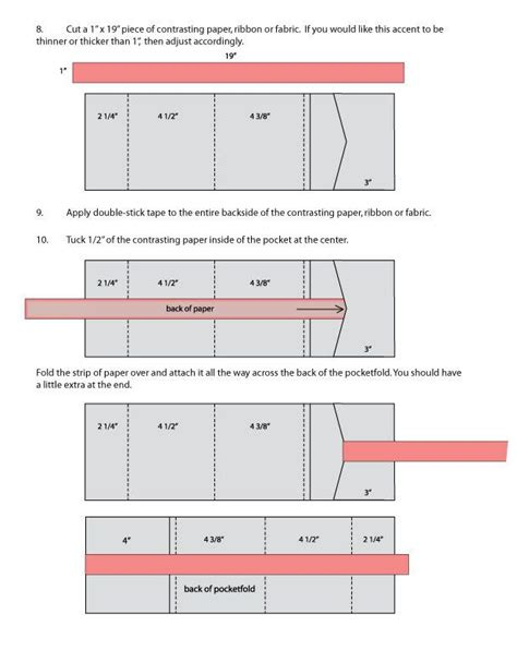 pocketfold template 17 best images about pocket fold envelopes on