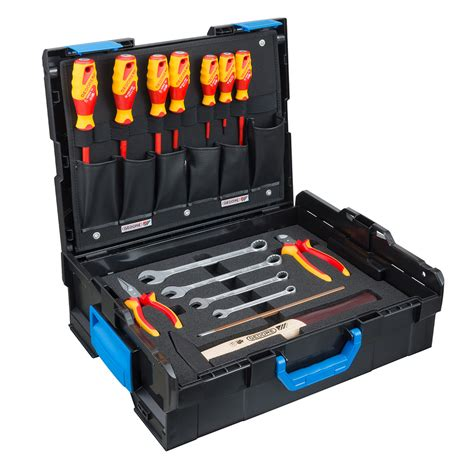 kits uk gedore bosch electricians tool kit 15 pieces in sortimo