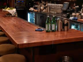 wood bar tops