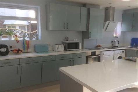an innova altino petrol blue kitchen http www diy