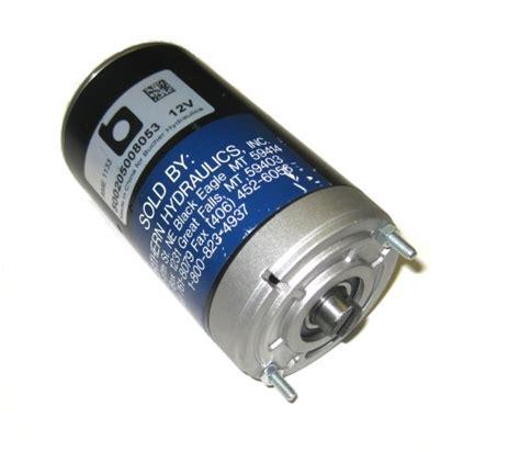monarch motors 08053 monarch electric dc motor electric hydraulic motor