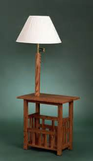end table with l attached warisan lighting