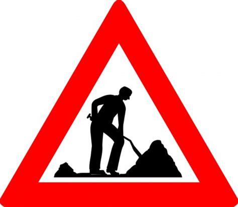 Baustellenschild Zeichen by Verkehrszeichen