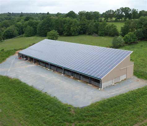 Hangar Photovoltaique Agricole by Energie Solaire Solutions Photovolta 239 Ques Pour