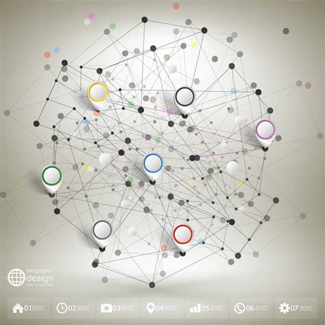 network pattern illustrator 30 best infographic templates for illustrator top