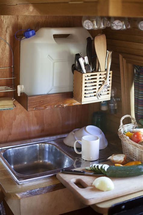 cer trailer kitchen ideas 75 best cer storage ideas travel trailers husvagn