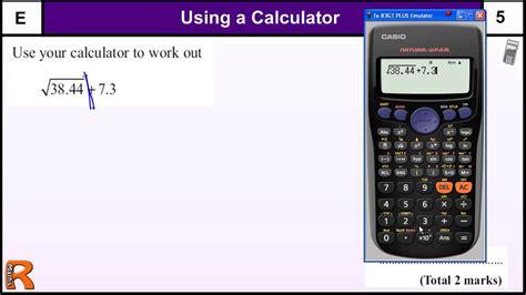 calculator quiz gcse maths mock exam year 10 gcse maths revision
