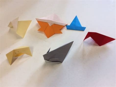Origami Classes - origami class with bernie douglas at the essex library