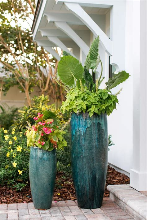 front yard potted plants front courtyard pictures from hgtv home 2016 hgtv