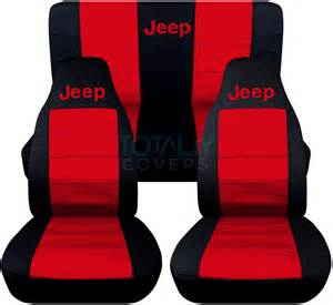 Seat Covers For Wrangler Jeep Jeep Wrangler Yj Tj Jk 1987 2017 2 Tone Seat Covers W Logo